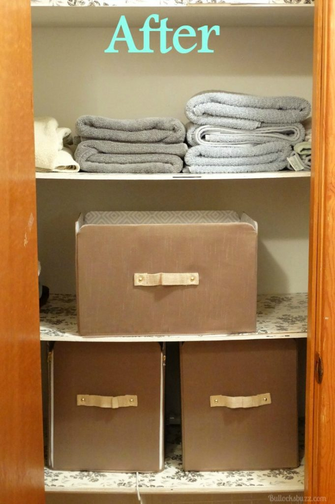 Six Tips for Organizing Closets SOFI after linen closet organized