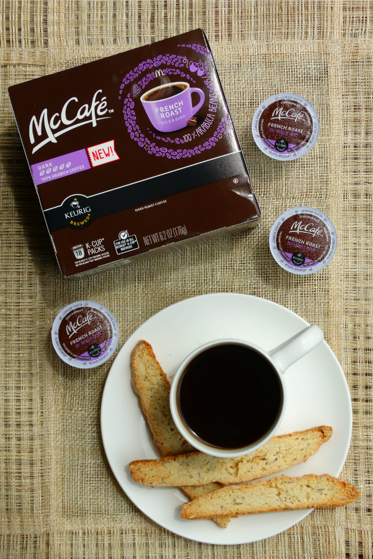 biscotti recipe and mccafe coffee