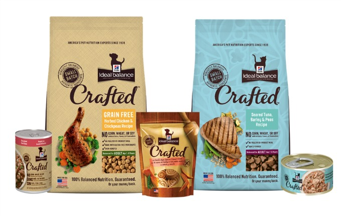 hills crafted pet food entire line