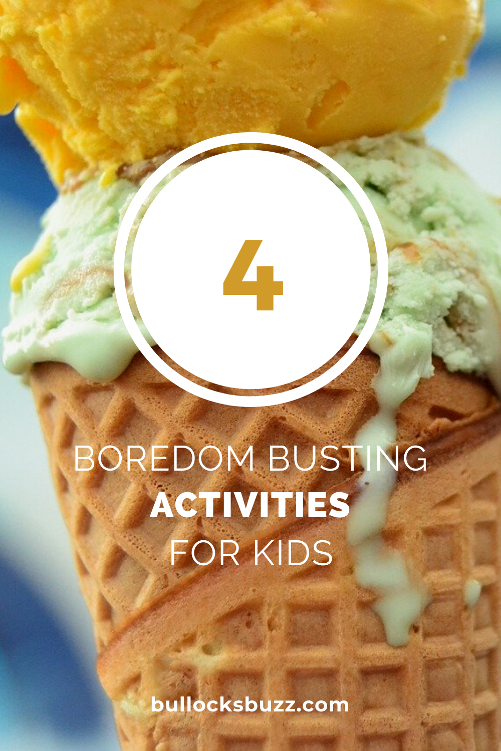 Summer's winding down, and the kids are getting restless. Vacation's over, camp's out and it's too hot. Get rid of boredom with these 4 activities for kids!