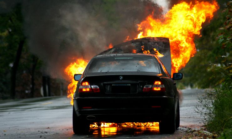 6 Common Causes of Car Fires