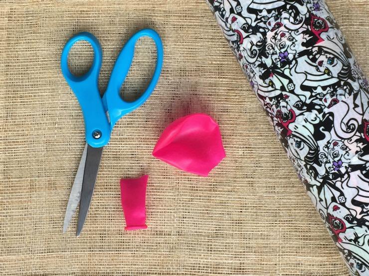 Balloon Drum Pringles Summer Jam materials