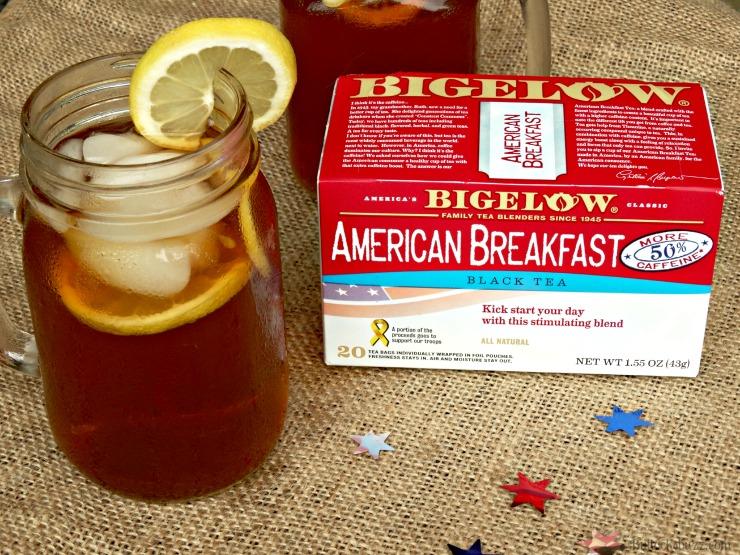 Gift Basket and Bigelow Tea iced tea