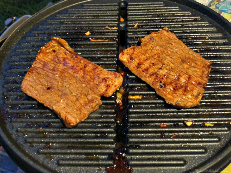 grilled steak fajitas recipe kraft steak on grill