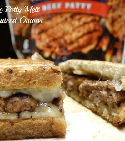 #ad Classic Patty Melt with Sautéed Onions
