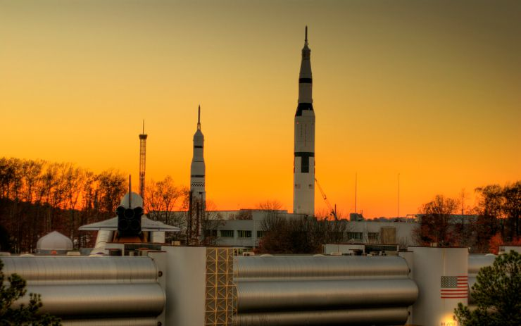 US Space and Rocket Center Huntsville Alabama by PROBryce Edwards