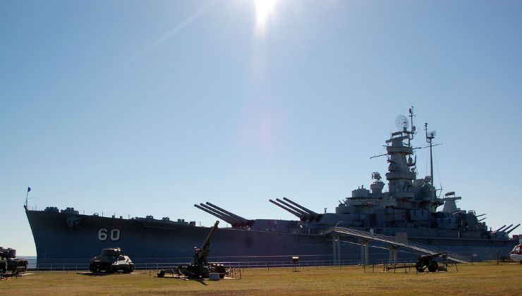 USS Alabama in Mobile Alabama