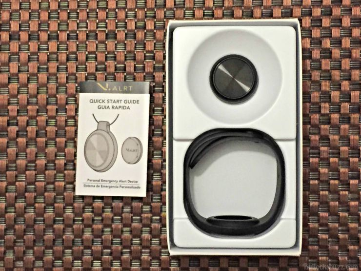 V.ALRT Personal Emergency Alert Device in box