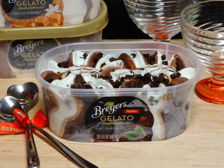 breyers gelato indulgences close up