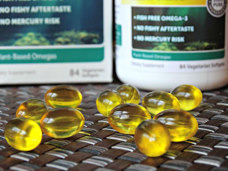 Nature's Science Vegan Omega-3 gel soft tabs