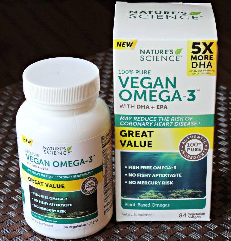 Nature's Science Vegan Omega-3 main image