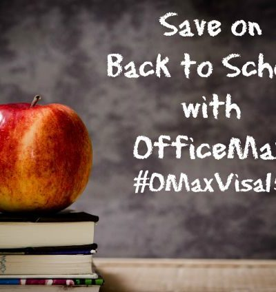 Save on Back to School with OfficeMax and VISA Gift Cards #OMaxVisa15