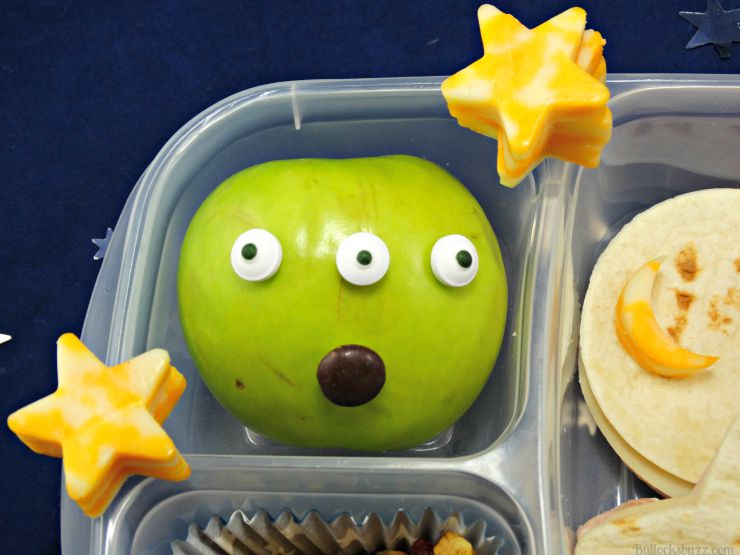 you're out of this world lunchbox theme wet ones wipes apple martian