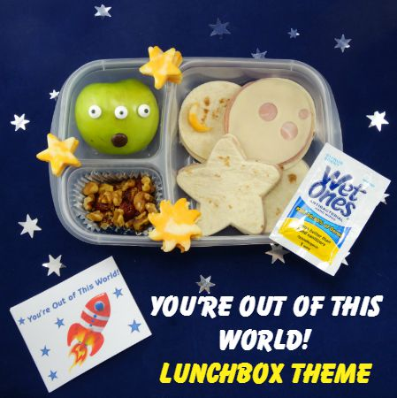 'You're Out of This World' Lunchbox Theme: Banish Lunchbox Boredom! Free Printable!