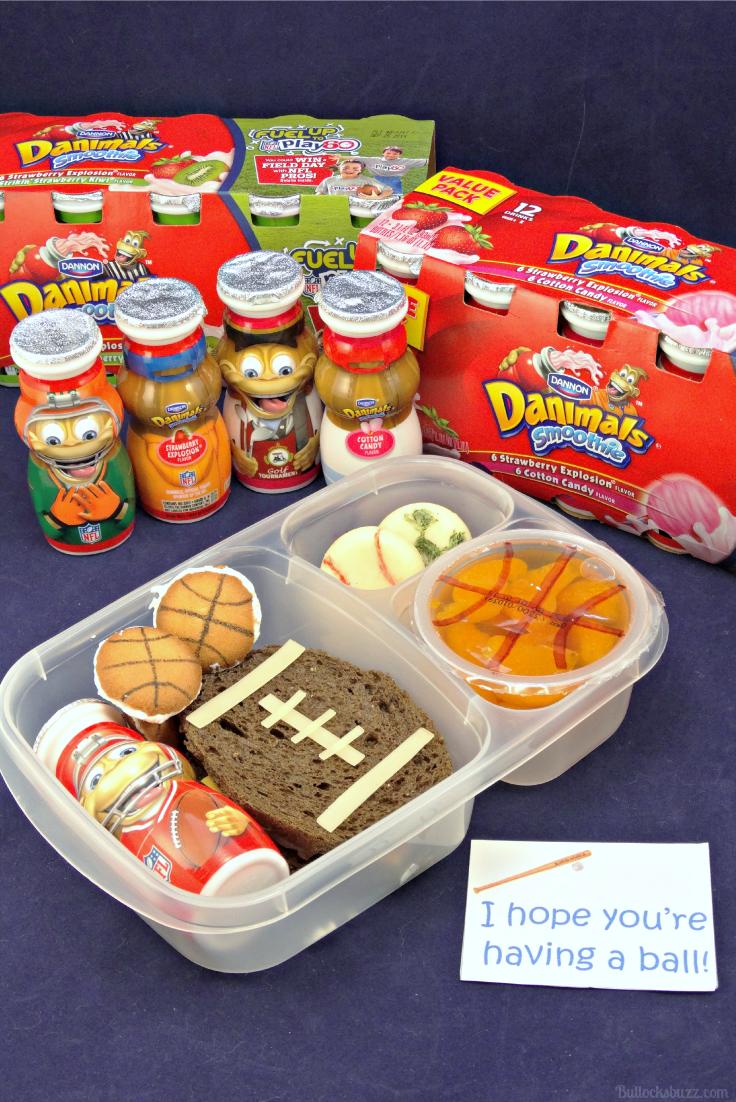Have A ball lunchbox theme with free printable a Sports Themed Lunch