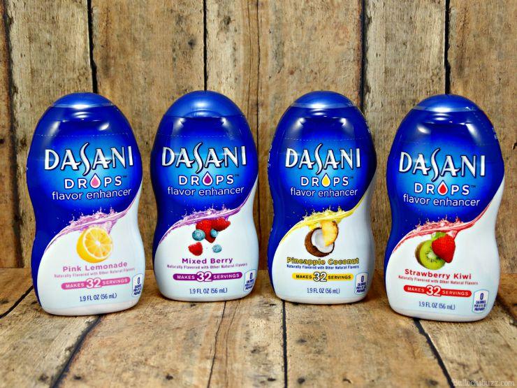 Dasani Drops Water Enhancer flavors
