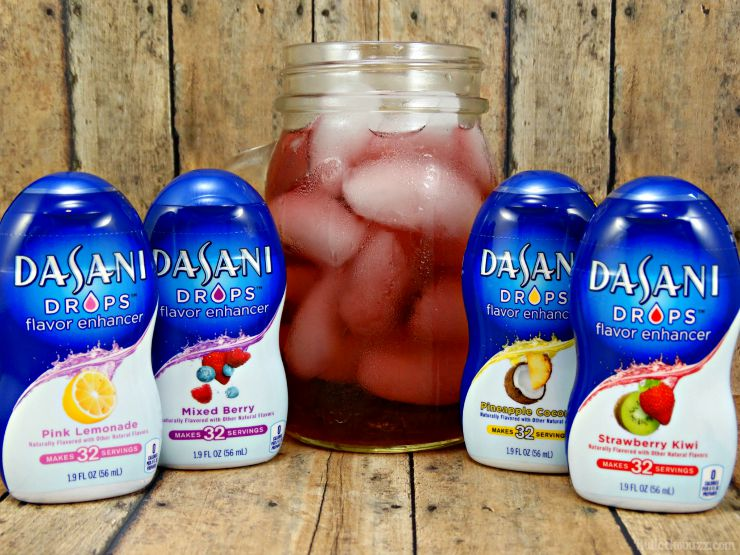 Dasani Drops for better tasting water
