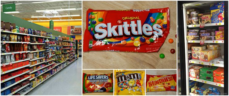 Skittles® Cookie Ice Cream Sandwiches in-store photo