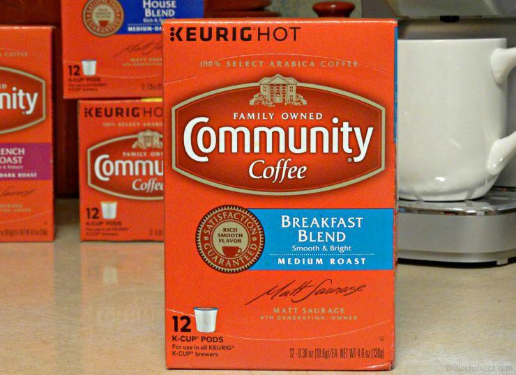 community coffee breakfast blend flavor