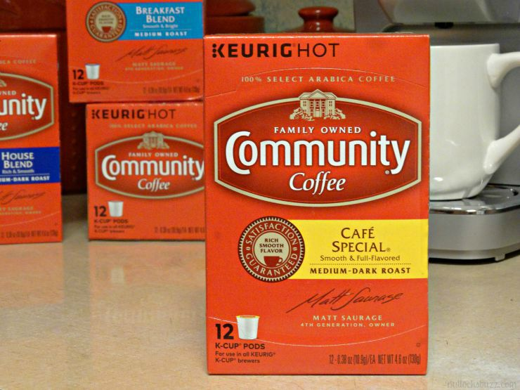 community coffee cafe special blend flavor