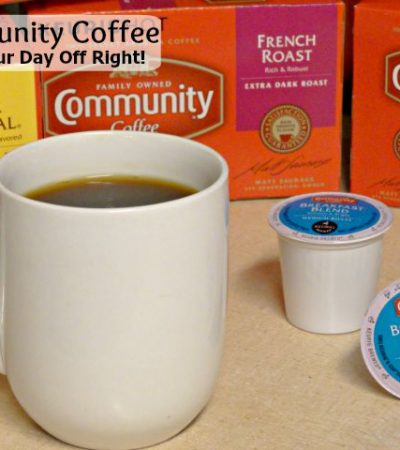 Community Coffee: Start Your Day Off Right!