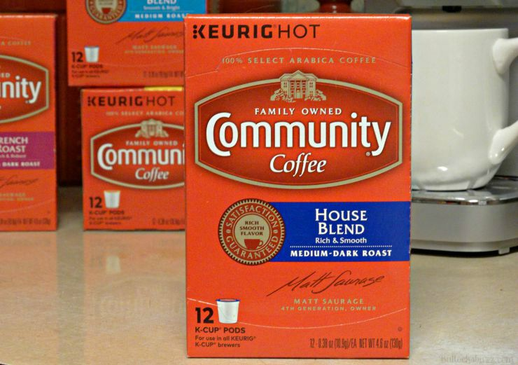 community coffee house blend flavor
