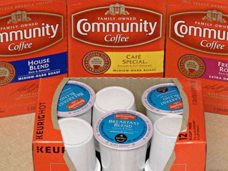 community coffee pods