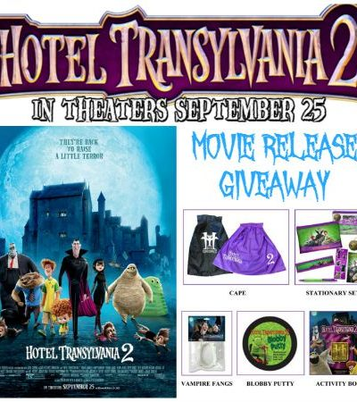 Hotel Transylvania 2 Movie Release and A Giveaway!