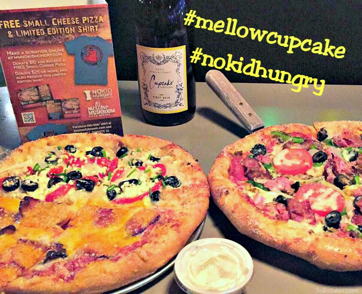 mellow mushroom instagram pic with hashtags
