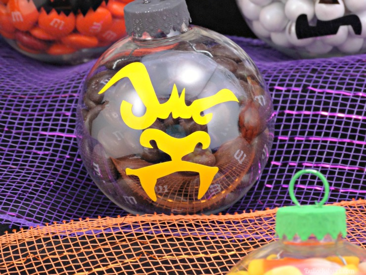 DIY Halloween candy ornaments werewolf