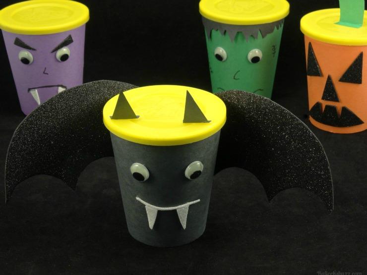 Halloween Monster Snack Cups Go Paks bat