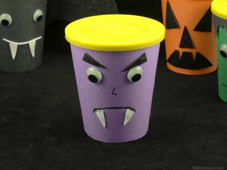 Halloween Monster Snack Cups Go Paks vampire
