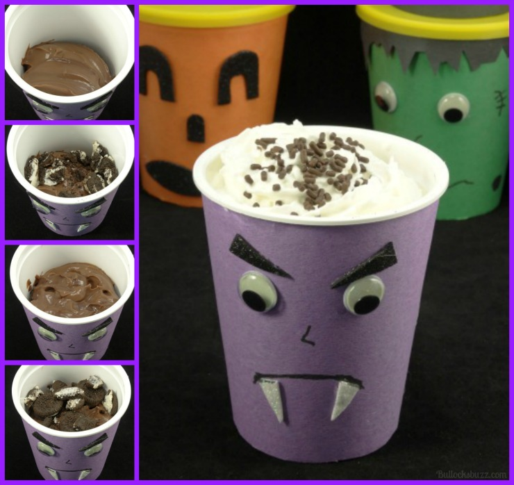 Halloween Monster Treat Go Packs death by chocolate Go Pack recipe