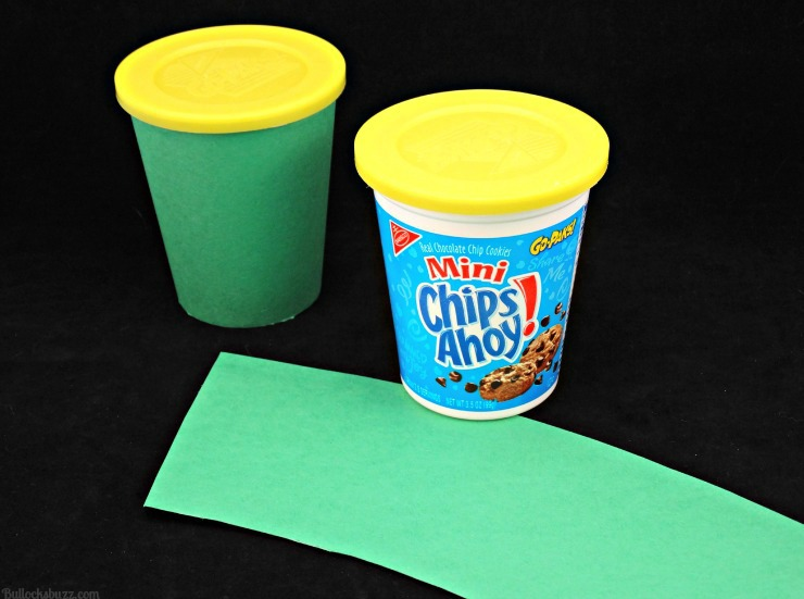 Halloween Monster Treat Go Packs frankenstein materials wrap Gp-Pak in green paper