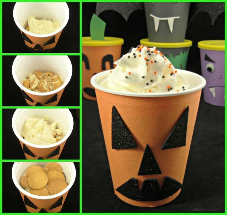 Halloween Monster Treat Go Packs ghostly vanilla go pack recipe