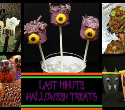 12 Last Minute Halloween Treats