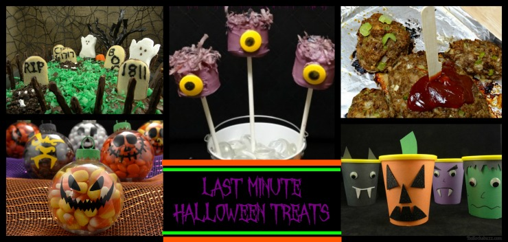 12 Last Minute Halloween Treats