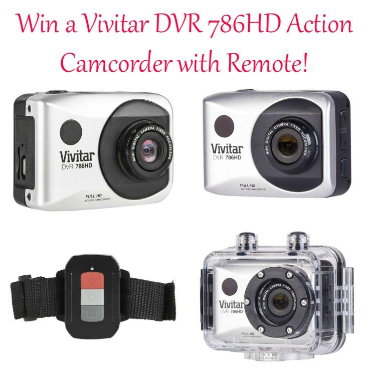 Vivitar DVR 786 HD Action Camcorder giveaway
