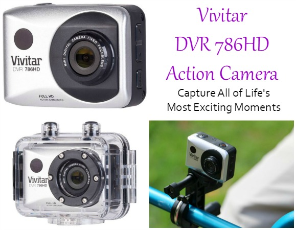 Vivitar DVR 786HD Action Camera – Capture All of Life's Most Exciting Moments
