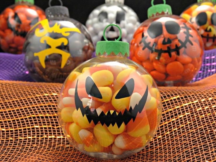 Last Minute Halloween Treats Halloween Ornaments