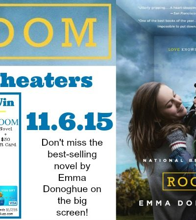ROOM the Movie: Win A Copy of the Novel + $30 Gift Card