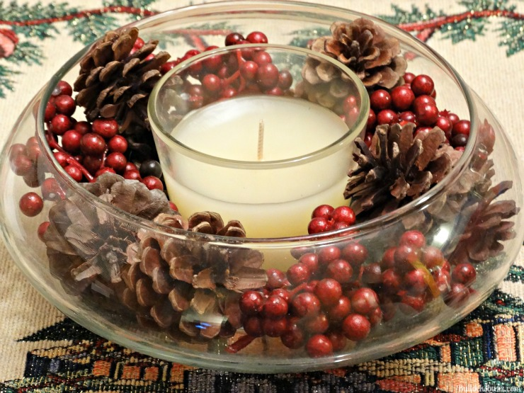 Holiday Party Planning centerpiece