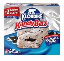 Klondike Kandy Bars Cookies and Cream