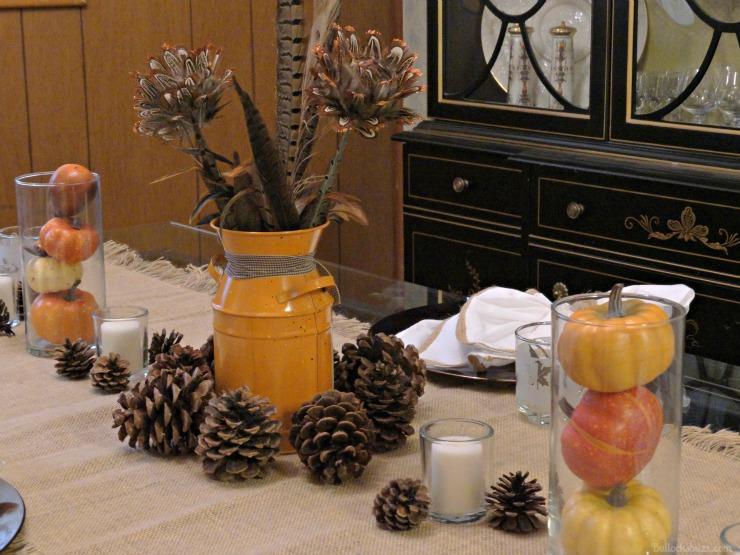 NILLA, PB and Mallow Squares Thanksgiving dessert recipe DIY centerpiece Autumn theme