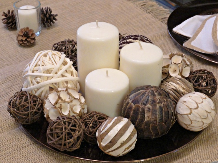 NILLA, PB and Mallow Squares Thanksgiving dessert recipe DIY centerpiece neutral modern theme