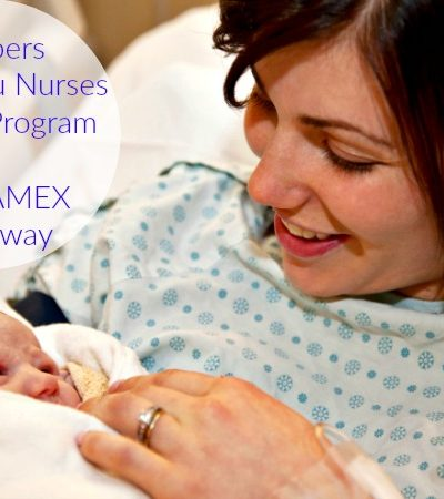 Nominate Your Favorite Nurse with Pampers Thank You Nurses Awards Program