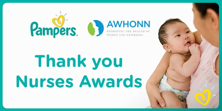 Pampers Swaddlers Thank You Nurses Awards program logo