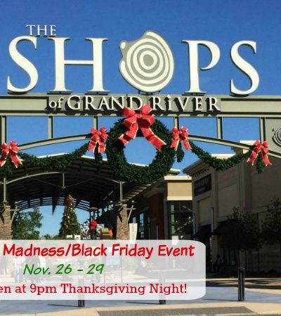 The Outlet Shops of Grand River Moonlight Madness Black Friday Event