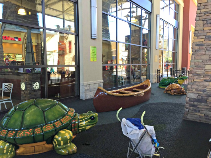 The Outlet Shops of Grand River play area