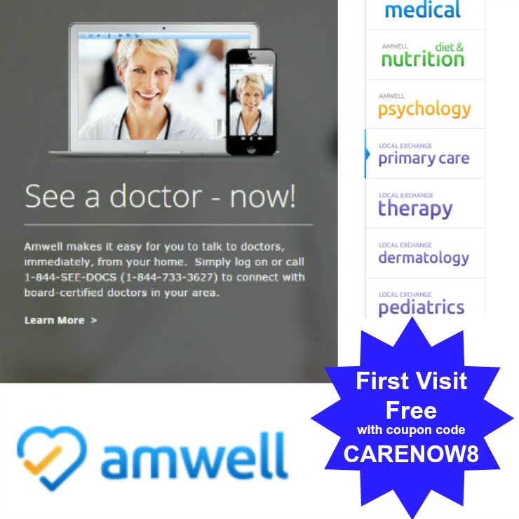 Amwell coupon code